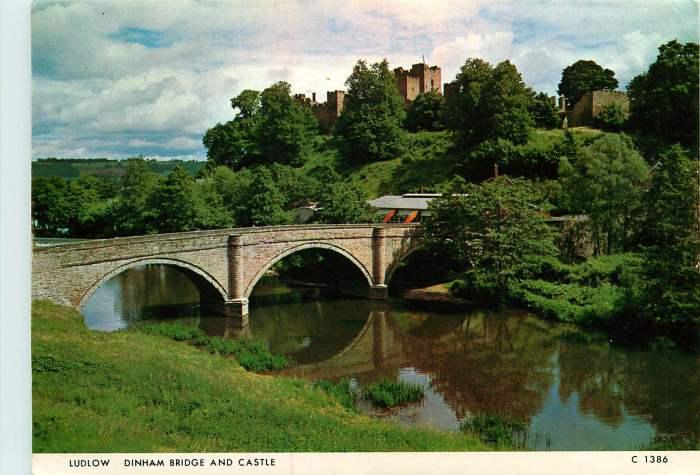 720509 28. Ludlow Dinham Bridge