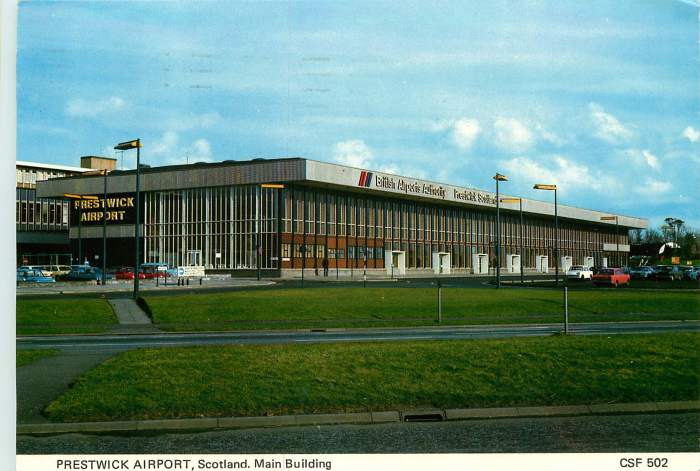 721005 54. Prestwick Airport