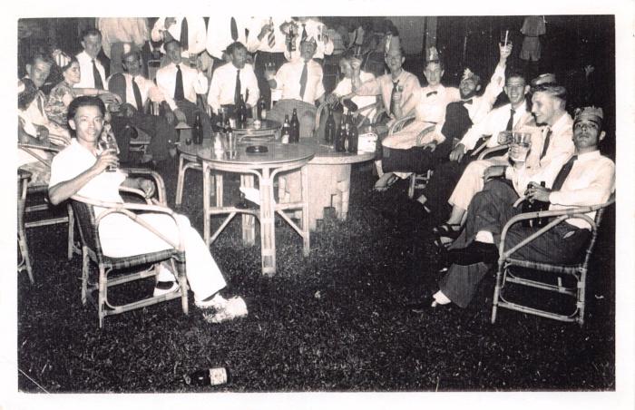 KL_Christmas1953 at the Mess