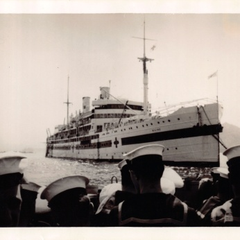 Mum'sPhotos_454Hospital_Ship_USS_Maine_Mar1951
